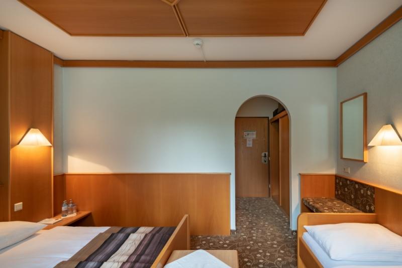 Dreibettzimmer-